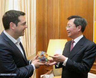 Grecia: Tsipras privatiza y vende el puerto de el pireo a una empresa china
