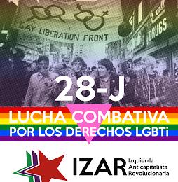 28 J Lucha combativa por los derechos LGTBI