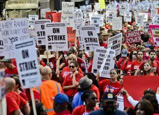 EEUU: Día de lucha para las y los profesores de Chicago