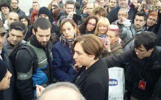 Solidaridad con la lucha de los trabajadores de la TMB de Barcelona y de AUZSA de Zaragoza en lucha por sus derechos laborales