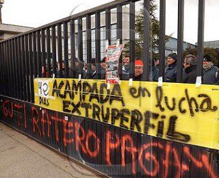 Comunicado de apoyo a las y los trabajadores de Extruperfil en Sevilla