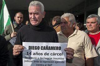Solidaridad y apoyo a Diego Cañamero y contra la represión estatal