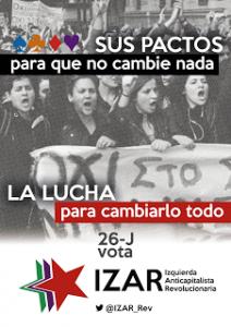 cartel electoral izar 2016
