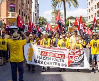 Victoria de las y los carteros de Algeciras tras 3 meses de huelga
