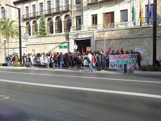 Impulso del CSE a las movilizaciones estudiantiles en el Conservatorio Superior de Granada
