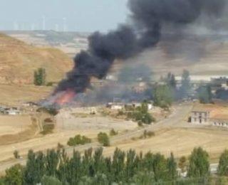 Comunicado:Las llamas en el poblado el Encuentro