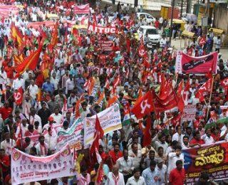 Apertura del curso en la lucha de clases: Huelga masiva en la India