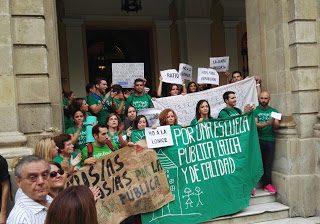 Comunicado de Marea Verde Andaluza tras la huelga del 26 de octubre