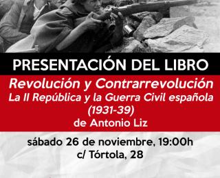Presentación del libro: Revolución y contrarrevolución