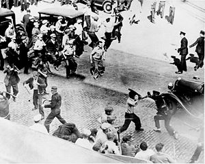 La lucha de clases en los EEUU en los años 30
