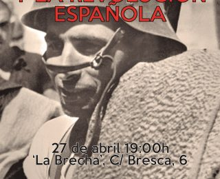 Charla-debate Mayo de 1937 y la revolución española