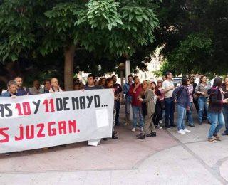 Comunicado de solidaridad con los 7 del AVE de Alicante