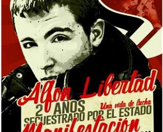 Comunicado de IZAR (Izquierda Anticapitalista Revolucionaria) ante el ingreso en prisión del militante antifascista Alfon