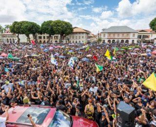 Victoria en la Huelga de la Guayana francesa