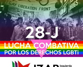Orgullo LGTBI contra el capitalismo y el patriarcado