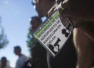 L@s trabajador@s de control de seguridad del aeropuerto del Prat en lucha por sus derechos