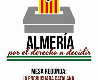 Almería por el derecho a decidir organiza una mesa redonda sobre el 1 de octubre