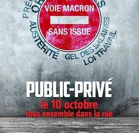Público, privado, jóvenes, parados y jubilados en Francia ¡respondemos!