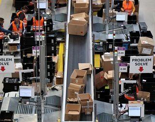 El Black Friday pasado por huelga de las y los trabajadores de Amazon en Italia