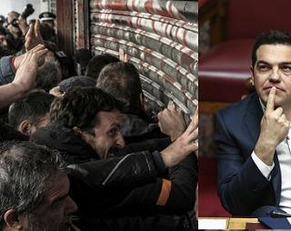 Un punto de inflexión en la política neoliberal de Syriza: Tsipras ataca el derecho a huelga
