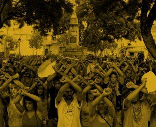 Comunicado en solidaridad con lxs cuatro activistas del 15M que participaron en la acampada frente al CIE de Capuchinos