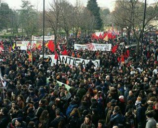 El antifascismo en Macerata manda un mensaje de impunidad 0 a la política italiana