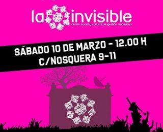 Comunicado en apoyo a la Casa Invisible, centro social de Málaga