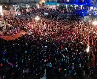 Ante los repetidos casos de represión con motivo de la huelga general feminista del 8M en Burgos