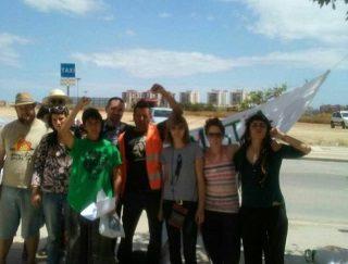 Libertad para los dos activistas detenidos en Arraijanal