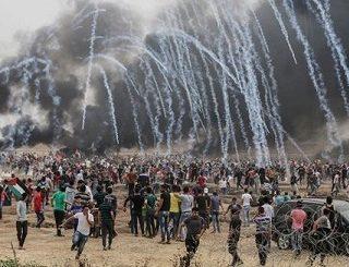 Israel celebra con un baño de sangre los 70 años de la Nakba con el aplauso de EEUU