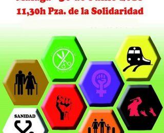La Andalucía que no se resigna y lucha, ¡a la calle el 30J!