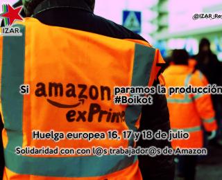Comunicado de apoyo a la huelga de l@s trabajador@s de Amazon