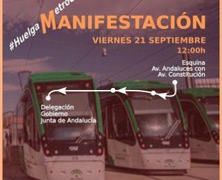 Por un metro de Granada con convenio y condiciones dignas para sus trabajador@s