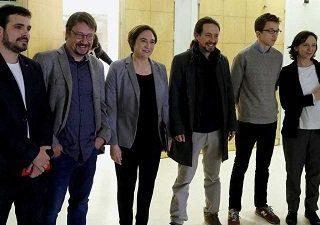 Las organizaciones políticas y sindicales a la izquierda del PSOE un año después del 1-O