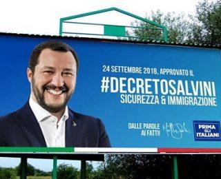 Si aún no habías visto todo en inmigración, Decreto Salvini