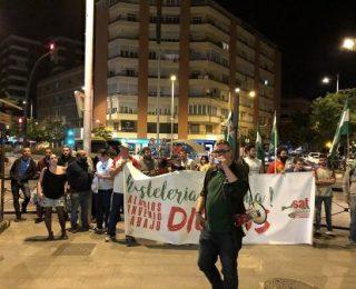 Entrevista a Eva Vozmediano y Paco Cabello, sindicalistas del SAT, sobre el conflicto laboral en el restaurante La Tagliatella  de Granada