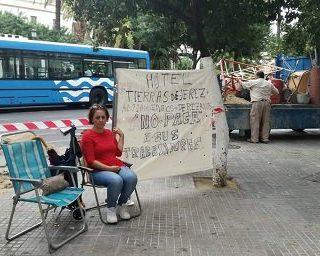 Entrevista a Manuela Vargas, trabajadora en lucha contra el Hotel Tierras de Jerez