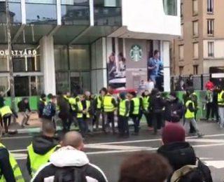 Aquí como en Francia: contra los fascistas ni un paso atrás. Solidaridad con nuestr@s compañer@s del NPA