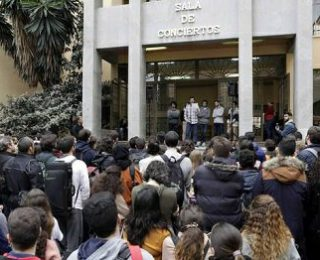 La pasada huelga en los conservatorios de Andalucía