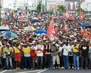 10 años de la huelga general en la isla de Guadalupe