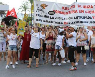 La huelga de las kellys en Ibiza señala la autoorganización del colectivo