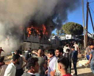 No más muertes en Moria. Derribemos la política criminal de los gobiernos de la UE contra l@s refugiad@s