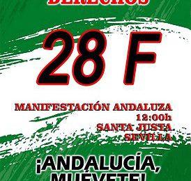 28F. Por nuestros derechos, ¡Andalucía muévete!