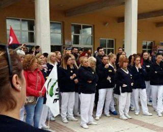 En apoyo a la huelga de l@s trabajador@s de la limpieza de la universidad de Málaga