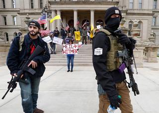 El significado de las protestas anticuarentena en EEUU