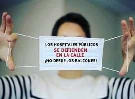 La sanidad, la educación, la dependencia y las pensiones no se defienden desde los balcones