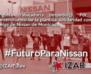Ante el cierre de Nissan, nacionalización y gestión bajo control de l@s trabajador@s