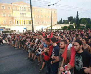Comunicado de OKDE-Spartakos. Fuera las manos del gobierno en las manifestaciones. El movimiento tendrá la última palabra