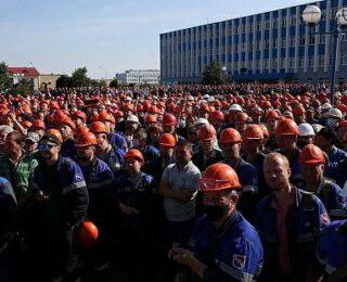 Durante mucho tiempo apoyo del régimen, l@s trabajador@s en Bielorrusia dan la espalda a Lukashenko