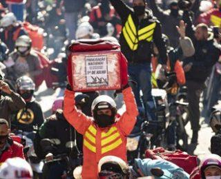 Huelga internacional de riders en Latinoamérica el 8 de octubre